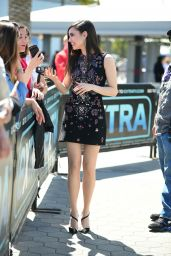 Sofia Carson - EXTRA Set at Universal CityWalk in Hollywood 05/22/2019