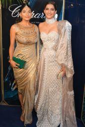 """Sonam Kapoor - Chopard Parfums Host """"La Nuit Des Rois"""" Dinner Party in Cannes 05/20/2019"""