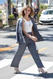 Sonja Gerhardt - Arrives at the Hotel Martinez in Cannes 05/14/2019