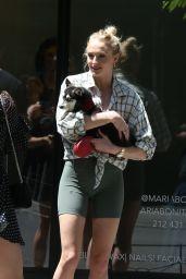 Sophie Turner and Joe Jonas - Walking Their Dogs in NYC 05/18/2019