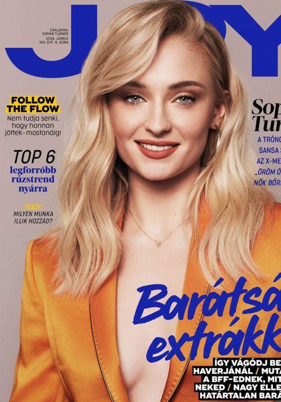 Sophie Turner - Joy Magazine Hungary June 2019 Cover