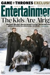 Sophie Turner, Maisie Williams and Emilia Clarke - Entertainment Weekly 05/31/2019