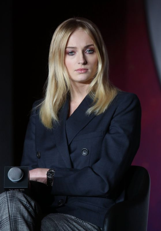 "Sophie Turner - ""X-Men: Dark Phoenix"" Press Conference in Beijing"