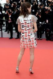 "Stacy Martin – ""Oh Mercy!"" Red Carpet at Cannes Film Festival"