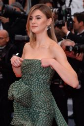 "Stefanie Giesinger – ""Dolor y Gloria"" Red Carpet at Cannes Film Festival"