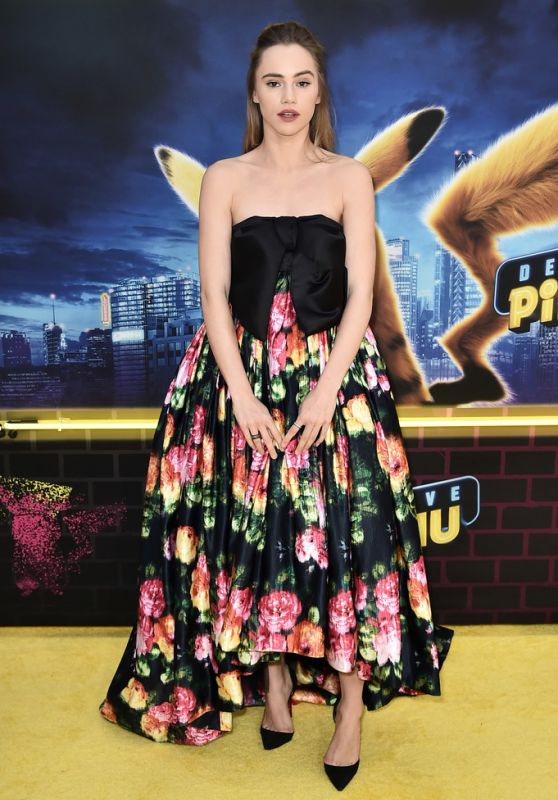"Suki Waterhouse – ""Pokemon Detective Pikachu"" Premiere in New York"