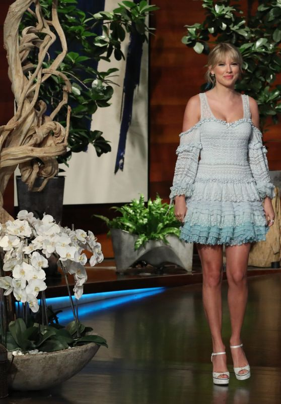 Taylor Swift Appeared On Ellen Degeneres Show 05 15 2019 Celebmafia