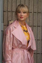 Taylor Swift - Leaving NRJ Radio in Paris 05/25/2019