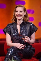 Taylor Swift, Sophie Turner and Jessica Chastain - Graham Norton Show in London 05/23/2019