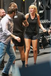 Taylor Swift - Working Out at Dogpound Gym in West Hollywood 05/31/2019