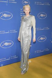 Tilda Swinton - Gala Dinner at Cannes Film Festival 05/14/2019
