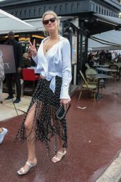Toni Garrn Chic Style - Cannes 05/18/2019