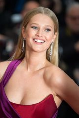 "Toni Garrn – ""The Best Years of a Life"" Red Carpet at Cannes Film Festival"