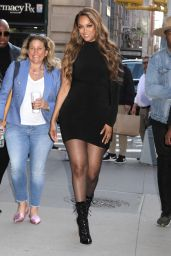 Tyra Banks - Outside BUILD Series in NYC 05/08/2019