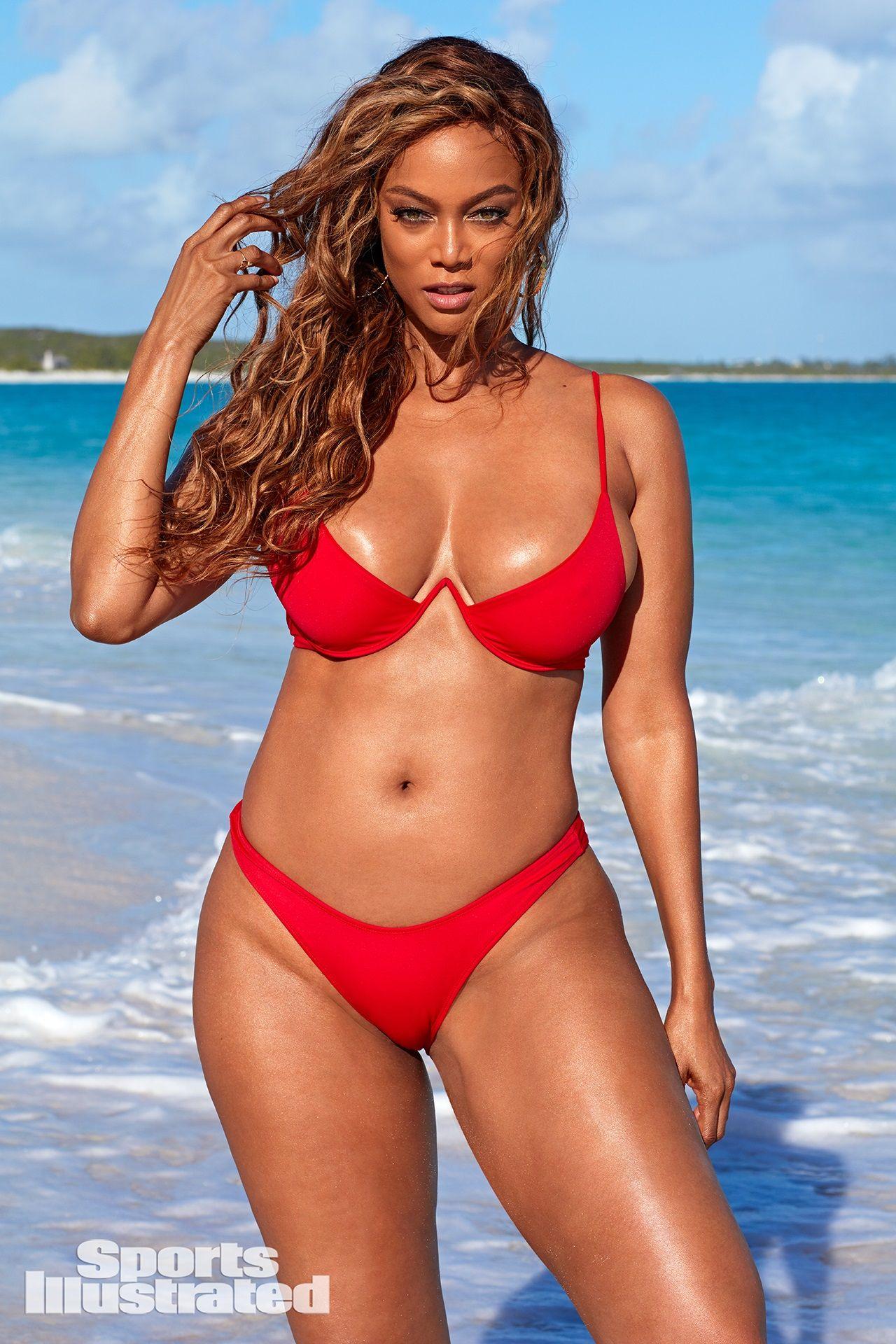 Tyra banks bikini pics