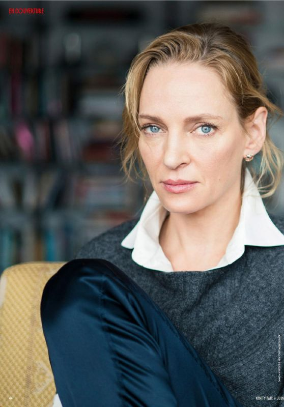 Uma Thurman - Vanity Fair Magazine France June 2019 Issue