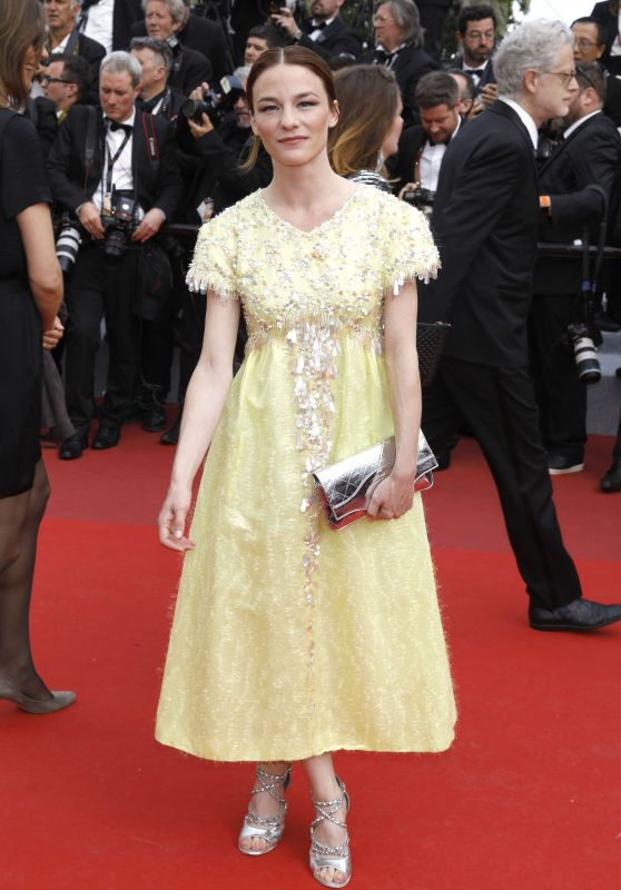 "Valerie Pachner – ""Once Upon a Time in Hollywood"" Red Carpet at Cannes Film Festival"