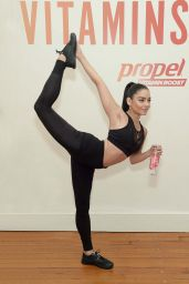 Vanessa Hudgens - Works Out With Propel Vitamin Boost 05/13/2019