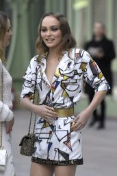 Vanessa Paradis and Lily-Rose Depp – Chanel Cruise Collection 2020 in Paris