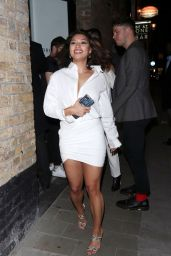 Vanessa White - Jourdan Dunn X Maybelline Party in London 04/30/2019