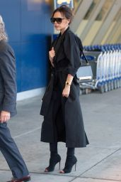 Victoria Beckham - JFK Airport in NYC 05/11/2019