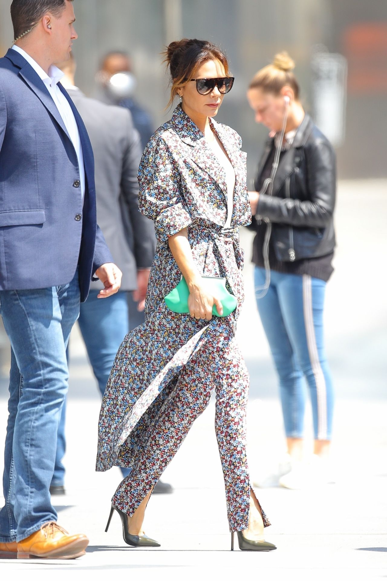 Victoria Beckham Showing Off Her Trendy Style , NYC 05/08/2019