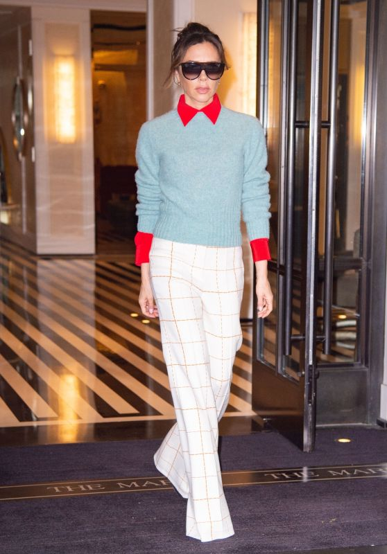 Victoria Beckham Style and Fashion - New York 05/10/2019