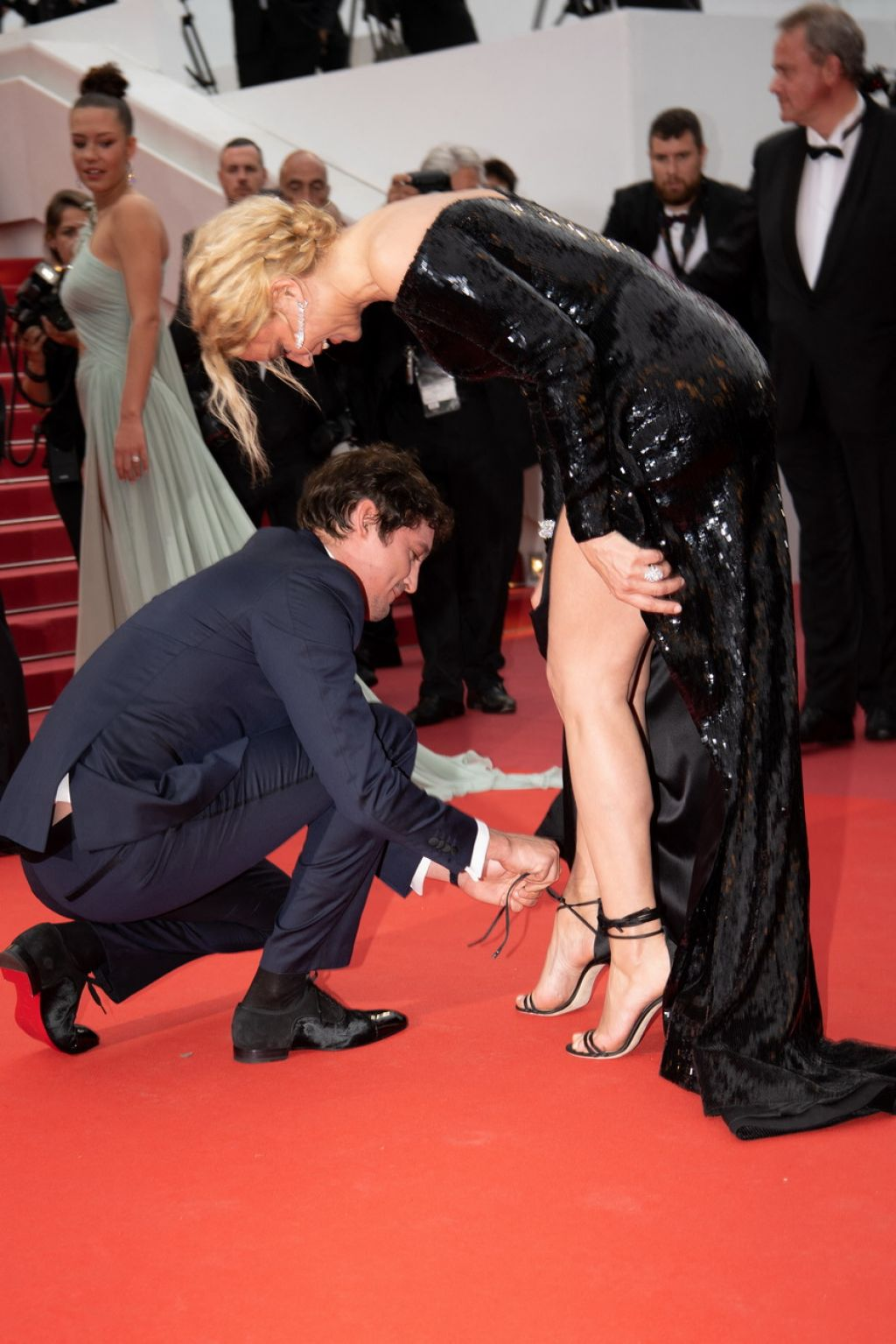 Virginie Efira Quot Sibyl Quot Red Carpet At Cannes Film Festival