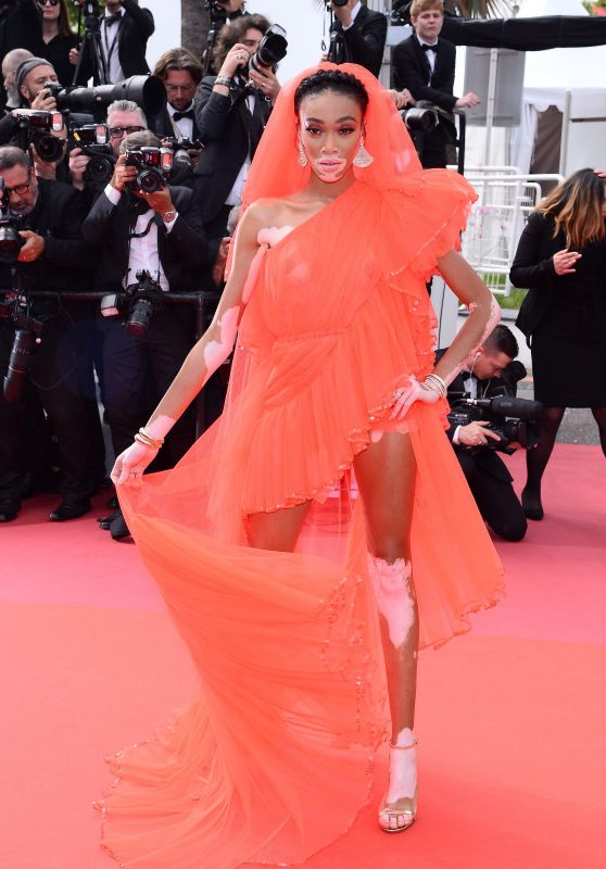 "Winnie Harlow – ""Once Upon a Time in Hollywood"" Red Carpet at Cannes Film Festival"