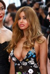 "Zahia Dehar – ""A Hidden Life"" Red Carpet at Cannes Film Festival"