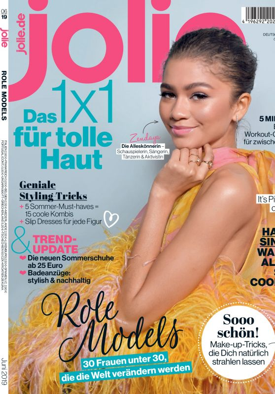 Zendaya - Jolie Magazine June 2019 Issue