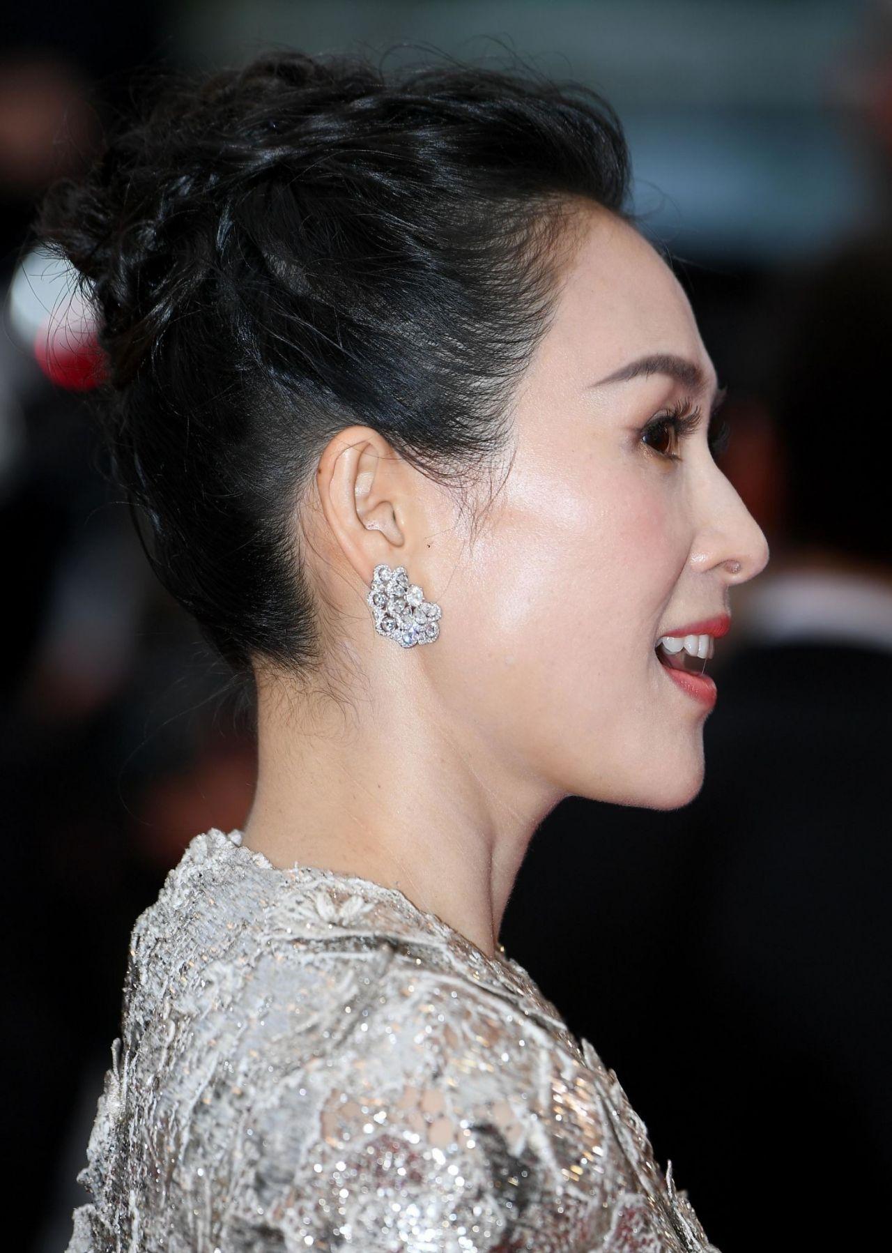 Zhang Ziyi La Belle Epoque Red Carpet At Cannes Film