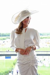Abbey Clancy – Ladies Day at Royal Ascot 06/20/2019