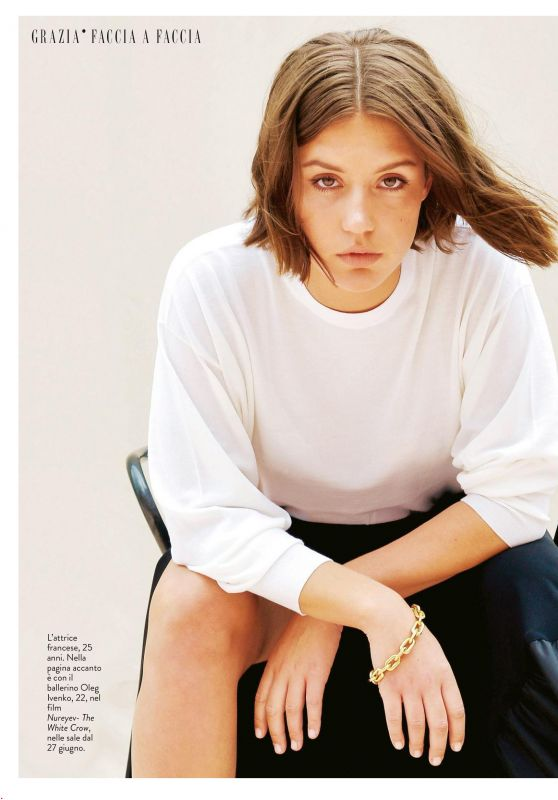 Adèle Exarchopoulos - Grazia Italy 06/20/2019