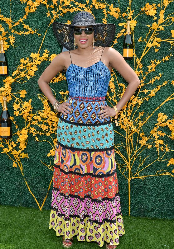 Alecia Quarles – 2019 Veuve Clicquot Polo Classic in NY