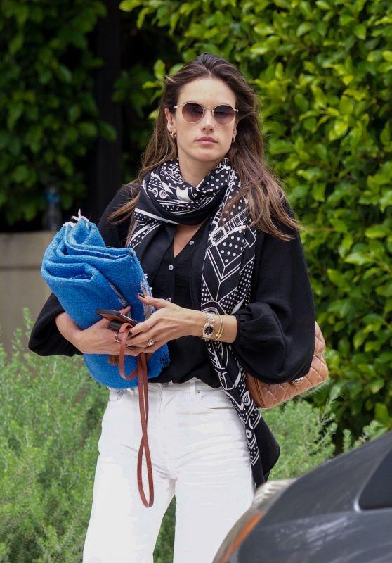 Alessandra Ambrosio - Leaves Her Home in LA 05/31/2019