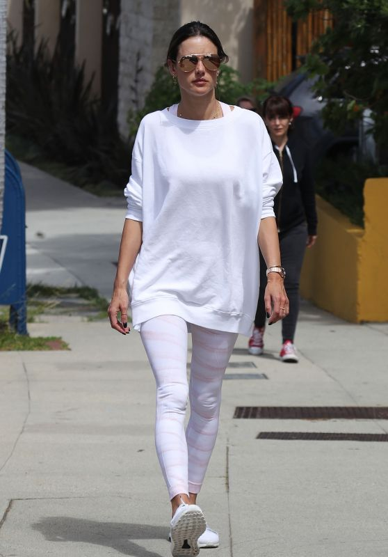 Alessandra Ambrosio - Out in Brentwood 05/30/2019