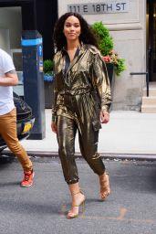 Alexandra Shipp - Stops by Buzzfeed NYC 06/06/2019