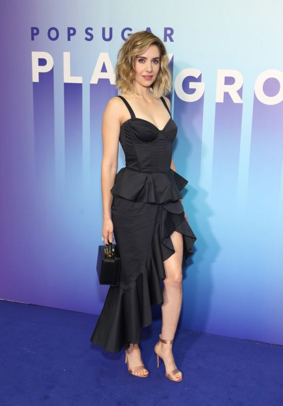 Alison Brie - POPSUGAR Play/Ground 2019 in NYC
