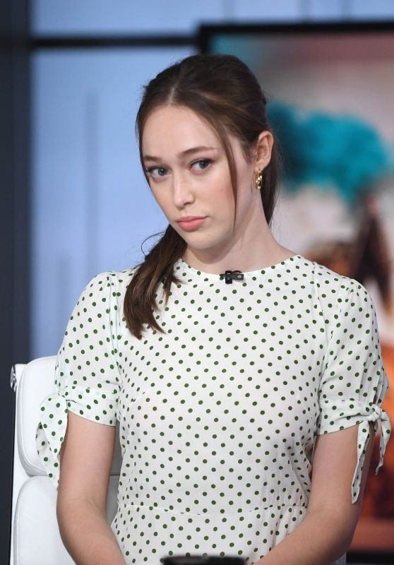 "Alycia Debnam-Carey - ""Good Day New York"" in NYC 05/30/2019"