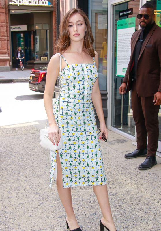 Alycia Debnam-Carey - Out in New York City 06/03/2019