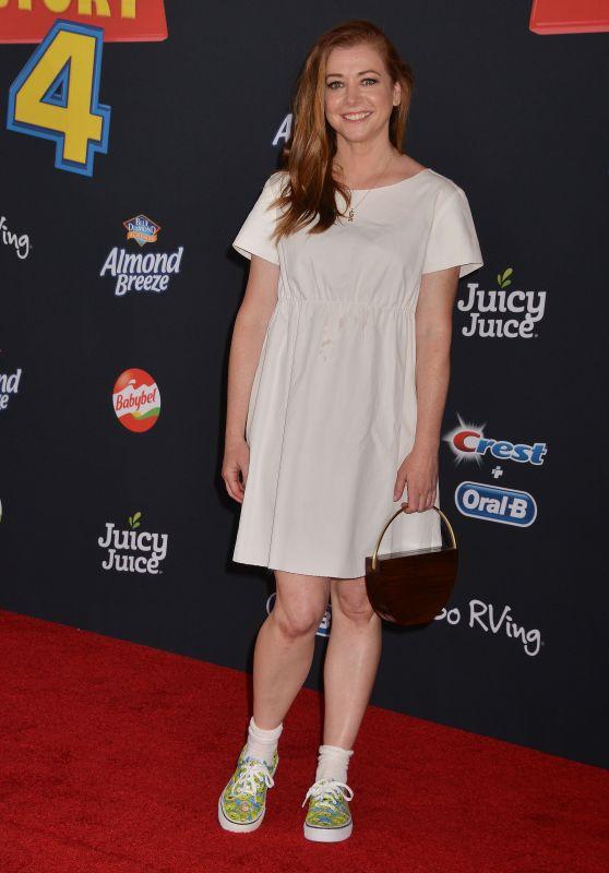 "Alyson Hannigan - ""Toy Story 4""  World Premiere in Hollywood"
