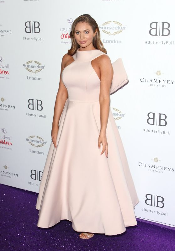 Amy Childs – Caudwell Children Butterfly Ball Charity Event in London 06/13/2019