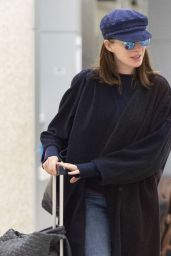Anne Hathaway at JFK Airport in NYC 06/12/2019
