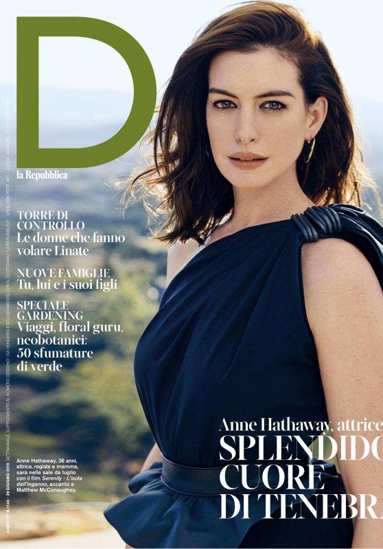 Anne Hathaway - D la Repubblica 06/29/2019 Issue
