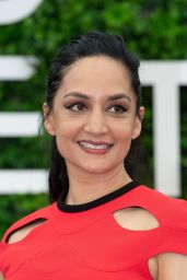 """Archie Panjabi - """"Departure"""" TV Show Photocall at the 59th Monte Carlo TV Festival"""