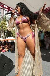 Ashanti in a Pink Bikini - Perform Live in Las Vegas 06/08/2019