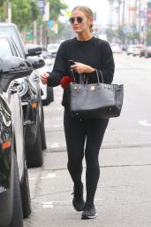 Ashlee Simpson - Leaves the Gym in Studio City 06/19/2019