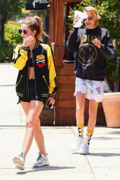Ashley Benson and Cara Delevingne - Out in LA 06/05/2019