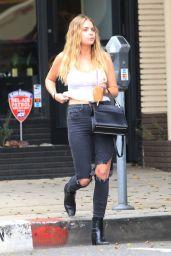 Ashley Benson - Leaving a Hair Salon in Beverly Hills 06/13/2019
